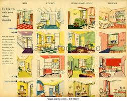 Small Picture 1950s Uk Home Decorating Magazine Stock Photos 1950s Uk Home