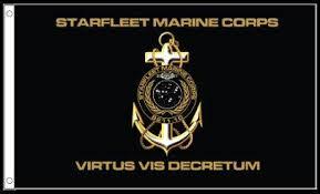 Starfleet Marine Flag Home Flags Sfmc Flag Star