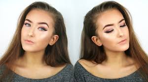 20 makeup challenge full face of glam for under 20 hannah renée you