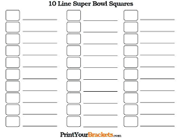 Football Pool Boxes Template – Tangledbeard