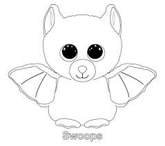 Swoops The Bat Ty Beanie Boo Megans 8th Birthday Beanie Boo