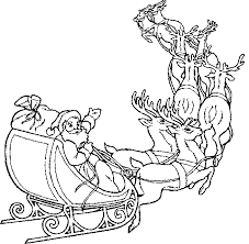 Santa Coloring Pages 9 Coloring Kids