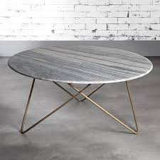 it round marble coffee table