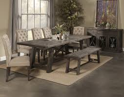 table 4 chairs and bench. newberry dining table set by alpine furniture 4 chairs and bench b