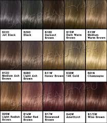 Nice Easy Hair Color Chart Clarol Hair Color L Oreal Hair