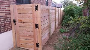 horizontal wood fence gate. Horizontal Board Semi-Privacy Gate Wood Fence O