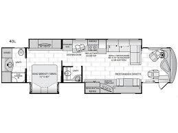 class a motorhome floor plans unique new 2019 american coach american dream se 40l motor home