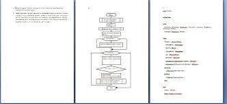 Программное обеспечение Программирование delphi pascal   Курсовая работа№2 отчет блок схема №4