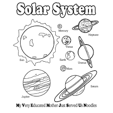 Coloring Pages Fabulous Solar System Color Pages In With For