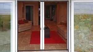 retractable screen doors. Doors Open, Screen Closed Retractable O