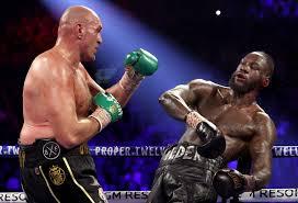 Tyson Fury vs Deontay Wilder 2 breaks ...