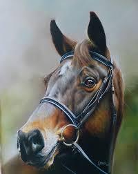 horse painting horse oil on canvas by rajasekharan parameswaran