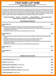 Driving Cv Sample Truck Driver Resume Sample Jpg Us31 Kokomo