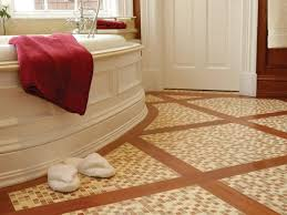 stone tile bathroom floors