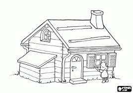 Goudlokje Een Nieuwsgierig Meisje Vond Een Klein Huisje In Het Bos