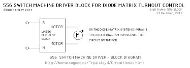 diode matrix systems 556 stall motor driver block diagram