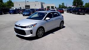 2018 kia rio ex. brilliant kia 2018 kia rio ex hatchback with shane garrison fresh off the truck  kia of  hamilton inside kia rio ex