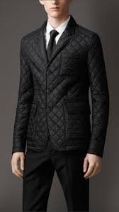 Burberry men's quilted blazer. | Clothes and Such | Pinterest ... & Leather Detail Quilted Blazer | Burberry Adamdwight.com