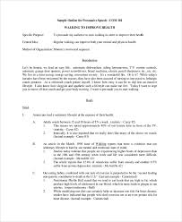 sample speech outline documents in pdf word sample persuasive speech outline