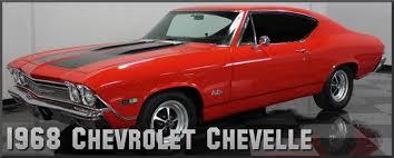 1968 Chevrolet Chevelle Factory Paint Colors