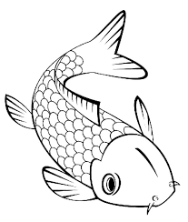 Small Picture Cute Little Koi Fish Coloring Pages fish Pinterest Koi Fish