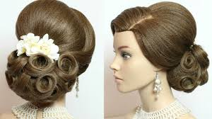 Wedding Bridal Hairstyle bridal hairstyle wedding updo for long hair tutorial youtube 8091 by stevesalt.us