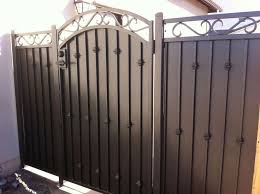 wrought iron privacy fence. Minimalis Metal Fence Privacy Screen Wrought Iron