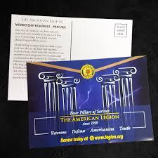 Membership Renewal Post Cards Florida American Legion