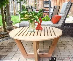 diy patio coffee table