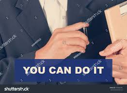 You Can Do Quotes Business Man Stock Photo Edit Now 375095446