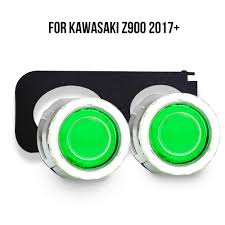 LED Headlight Suitable for Kawasaki <b>Z900</b> 2017 <b>2018</b> 2019 Red ...