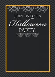 Blank Halloween Invitation Templates Cute Free Printable Halloween Invitations Fun Squared