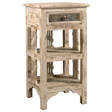 distressed white washed furniture. Hillsdale Furniture Alena Distressed Whitewash End Table White Washed