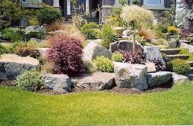 big garden rocks big rocks for garden collection in large rock landscaping ideas big