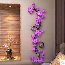 wall decor flower decorations for walls background themed handmade regarding popular home wall decoration flowers plan