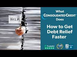 Debt can be stressful, but it is important to do research and understand your options so you don't choose a debt relief method that could hurt you even more in the long run. Finding Credit Card Debt Relief In 2021 Consolidated Credit