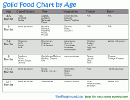 5 Month Old Baby Solid Food Chart Solid Food Chart Vert Gif Lilly Baby Solid Food Baby