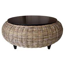 round rattan coffee table. Wicker Coffee Tables Unique Frequency Round Rattan Table S