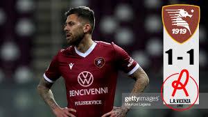 Salernitana vs Vicenza 1-1 All Goals & Highlights 13/02/2021 HD - YouTube