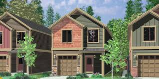10105 narrow lot house plans small house plans with garage 3 bedroom house plans