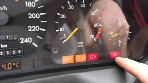 How Works Warning Lights In Mercedes Benz Dashboard