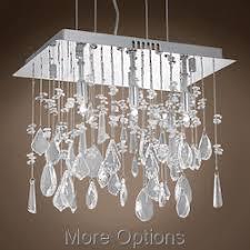 swarovski crystal lighting. JM Arctic Design 3 Light 14 Swarovski Crystal Lighting