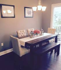 Dining Table With Bench Seating  Fashionable Dining Table With Bench Seating For Dining Table