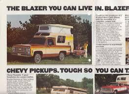 1977 Chevrolet RVs Van Pickup Blazer Motor Home El Camino Suburban