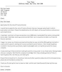 Finance Manager Cover Letter Chechucontreras Com