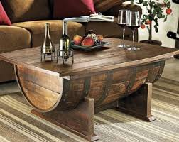 Reversible reclaimed wine barrel Barrel Coffee Reclaimed Oak Winewhiskey Barrel Coffee Table With Storage Lift Top Can Be Custom Stained To Your Decor Etsy Wine Barrel Table Etsy