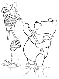 Disegni Da Colorare Winnie The Pooh E Pimpi A Pesca Risorse