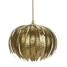 Leaf Light Fixture Laura Ashley Lisbeth Gold Leaf Pendant Light Ceiling
