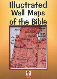 Illustrated Wall Maps Of The Bible Store Bib Arch Org
