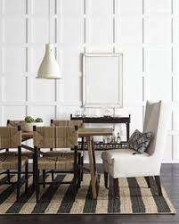 this is dining room inspiration we love the stately silhouette of the chair at the